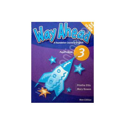 Way Ahead 3 Pupils Book with CD. Manual de limba engleza pentru clasa a V-a