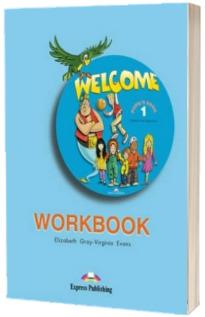 Welcome 1 AB workbook. Caiet pentru clasa a III-a,  limba engleza Welcome 1