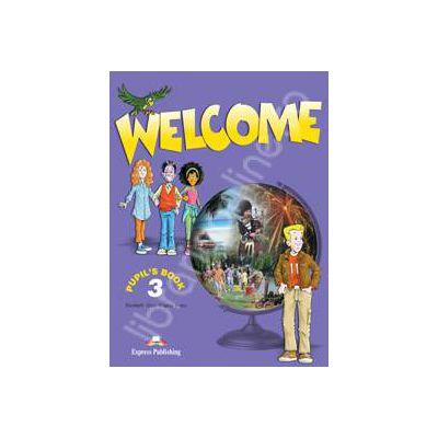 Welcome 3 (SB) pupils book. Manual pentru clasa a V-a de limba engleza Welcome 3