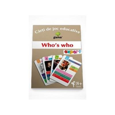 Who s who (Carti de joc educative)