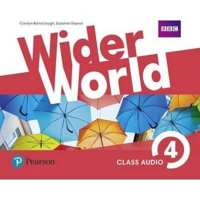 Wider World 4 Class Audio CDs