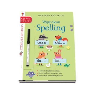 Wipe-clean spelling 5-6