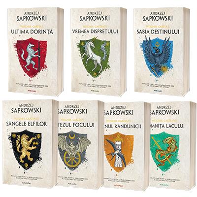 Serie de autor Andrzej Sapkowski, compusa din 7 carti (Witcher)