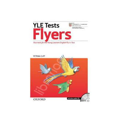 Cambridge YLE Tests, Revised Ed Flyers: Students Book and Audio CD Pack
