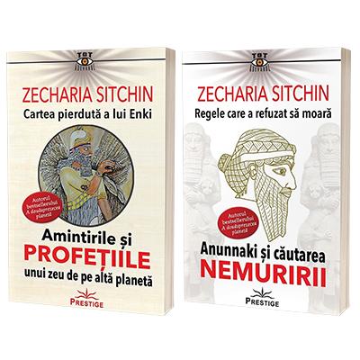 Serie de autor Zecharia Sitchin. Cartea pierduta a lui Enki si Regele care a refuzat sa moara