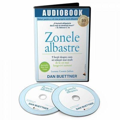 Zonele albastre. Audiobook
